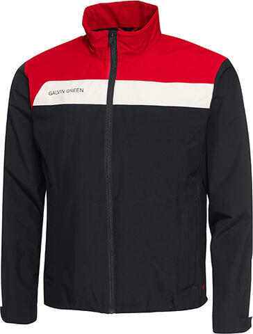 Galvin Green Austin Jacket Black/Red/White M