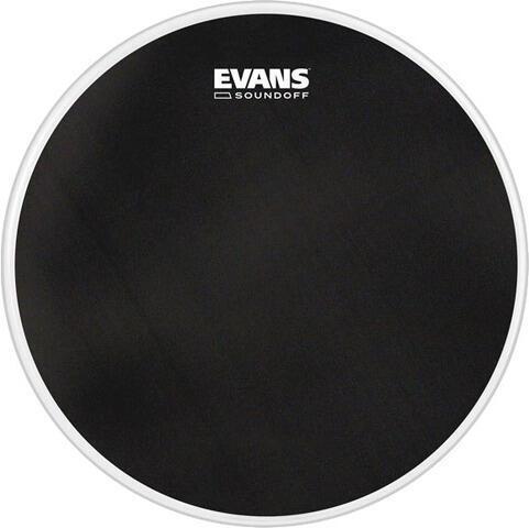"Evans SoundOff Drumhead 24"" Black"
