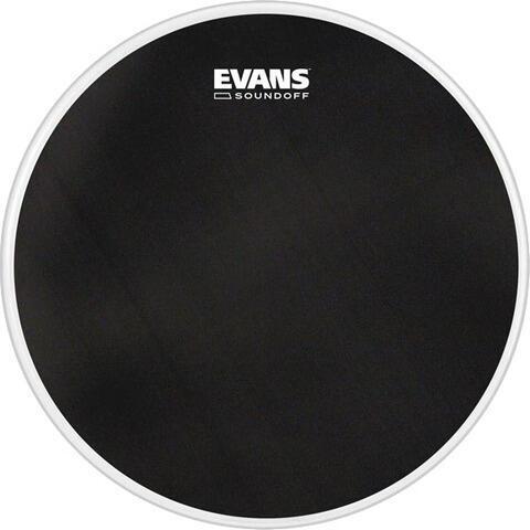 Evans SoundOff Tom Batter Drumhead 15'' Black