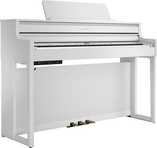 Roland HP 704 Polished White