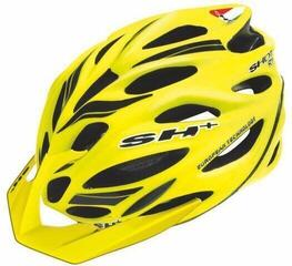 SH+ SHOT R1 yellow fluo matt/black Unisize