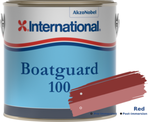 International Boatguard 100 Red 2'5L