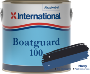 International Boatguard 100 Navy 2'5L