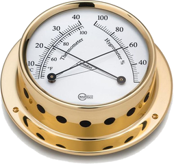 Barigo Tempo Thermometer / Hygrometer 70mm