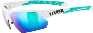 UVEX Sportstyle 224 White Green S3
