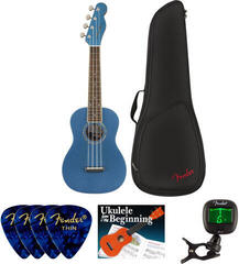 Fender Zuma Classic Concert Ukulele WN Lake Placid Blue SET