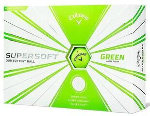 Callaway Supersoft Golf Balls 19 Matte Green 12 Pack