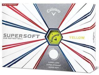Callaway Supersoft Golf Balls 19 Yellow 12 Pack