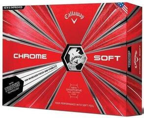 Callaway Chrome Soft 2018 Truvis Balls Black