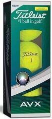 Titleist AVX Golf Balls Yellow 3B pack