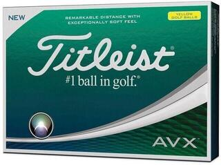 Titleist AVX Golf Balls Yellow 12 pack