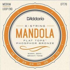 D'Addario EFT76 Flat Tops Mandola Strings Medium 16-53
