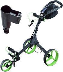 Big max IQ+ Black/Lime/Black Golf Trolley SET
