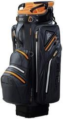 Big max Aqua Tour 2 Charcoal/Orange/Black Cart Bag