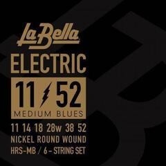 LaBella HRS-MB Nickel-Plated Round Wound – Medium Blues 11-52