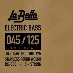 LaBella RX-S5B Bass RX Stainless Steel 45-65-80-100-125