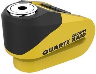 Oxford Quartz Alarm XA10 disc lock (10mm pin) Yellow/Black
