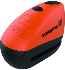 Oxford Screamer XA7 Alarm Disc Lock Orange/Matt Black