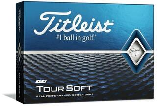 Titleist Tour Soft Golf Balls White 2020