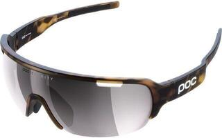 POC DO Half Blade Clarity Tortoise Brown-Violet/Silver Mirror