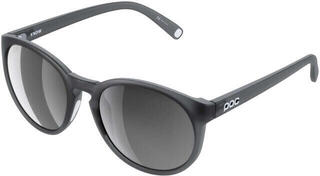 POC Know Uranium Black Translucent-Grey/White Mirror