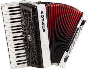 Hohner Bravo III 120 White