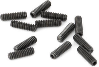 Fender American Deluxe/American Series Tele Saddle Height Adjustment Screws Black 12 pcs