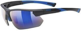 UVEX Sportstyle 221 Black Blue Mat