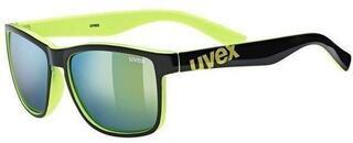 UVEX LGL 39 Black Lime