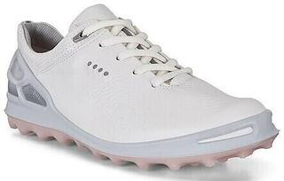 Ecco Biom Cage Pro Womens Golf Shoes White/Silver/Pink 35