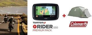 TomTom Rider 550 Premium Pack SET