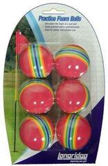 Longridge Multicoloured Foam Ball 6 Pk