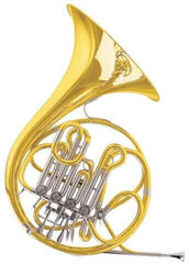 C.G. Conn 12D Double French Horn Discant