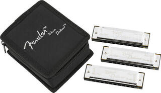 Fender Blues Deluxe Harmonica 3 Pack