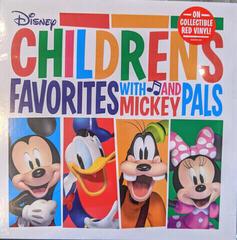 Disney Children's Favorites With Mickey & Pals OST (Red Coloured) (Vinyl LP)