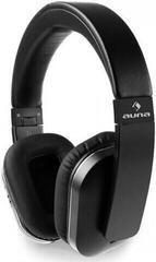 Auna Elegance ANC Nero ANC Active Noise Cancellation Cuffie Wireless On-ear