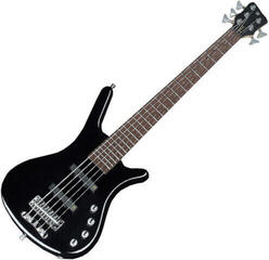 Warwick RockBass Corvette Basic 5-String Solid Black High Polish