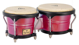Tycoon Concerto Series Bongos Black/Red Spectrum