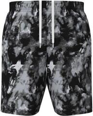 Under Armour Woven Adapt Mens Shorts Black/Pitch Gray L