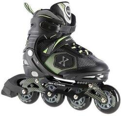Nils Extreme Roller Skates NA9080 Green S (31-34)