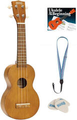 Mahalo MK1 SET Soprano Ukulele Transparent Brown