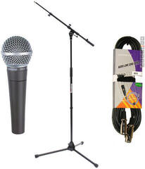 Shure SM58-LCE SET Vocal Dynamic Microphone